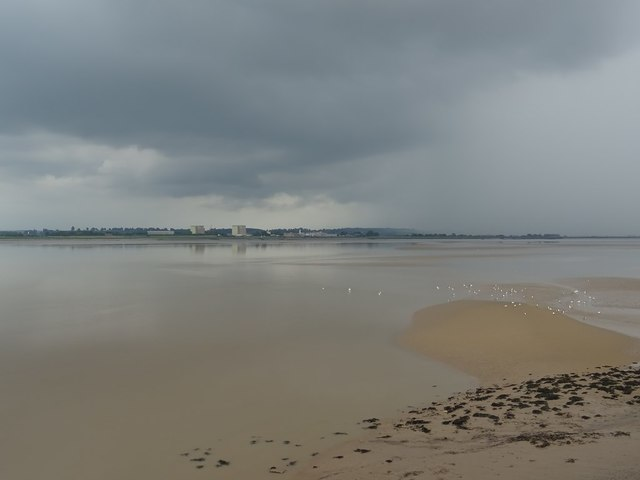 View across the River Severn to Oldbury