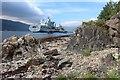 NS0971 : Royal Fleet Auxiliary ship 'Tidespring' at Loch Striven POL depot : Week 22