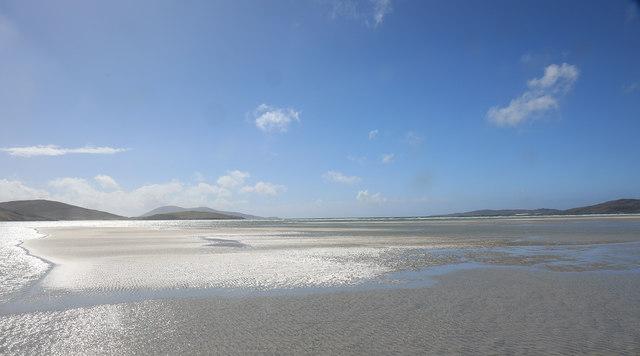 Shimmering sands at Luskentyre