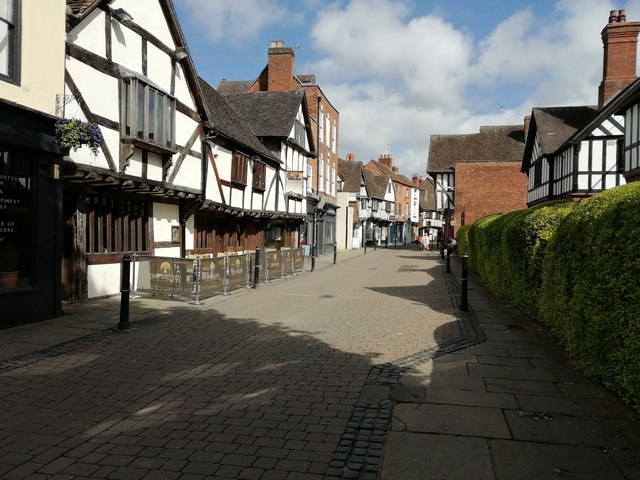 Timbered buildings