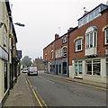 SK8608 : Oakham: Mill Street by John Sutton