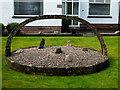 H4672 : Garden feature, Omagh by Kenneth  Allen
