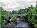 NH4556 : Parliamentary bridge over the Black Water by valenta