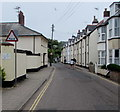 SY1287 : Warning sign - Ford, Mill Street, Sidmouth by Jaggery