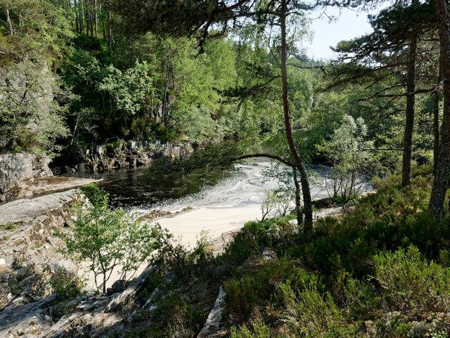 Falls on the Black Water near Silverbridge
