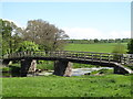NY5121 : Bridge over the Lowther by Gordon Hatton