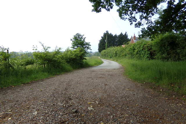 Entrance to Orsborn Cottages