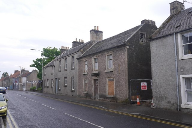 Renovation, High Street, Leslie
