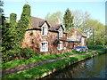SO8691 : Canalside house, Botterham by Christine Johnstone