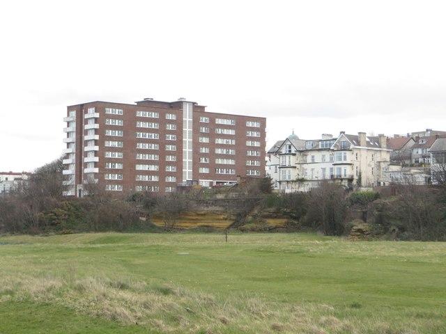 Apartment buildings, Wellington Road, New Brighton