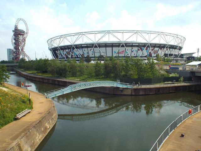 London Stadium and AcelorMittal Orbit