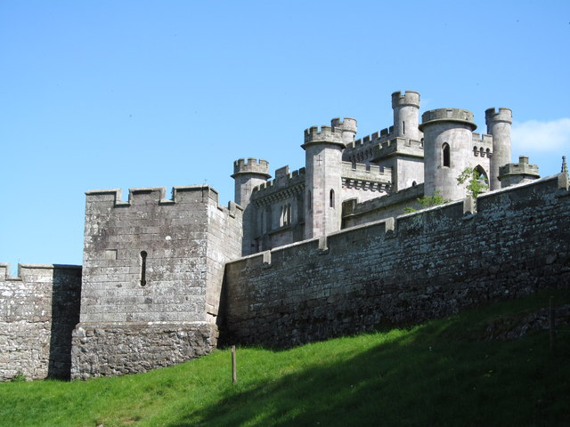 Battlements of Lowther Castle