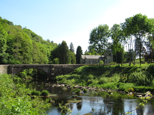 River Lowther at Askham Bridge