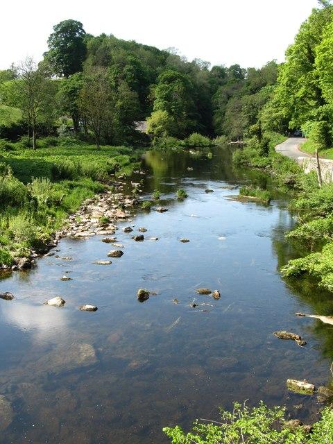 Downstream from Askham Bridge