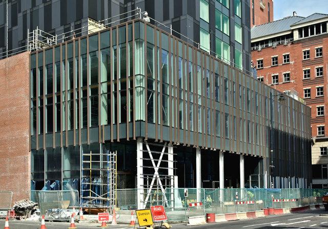 Windsor House redevelopment, Belfast - June 2018(1)
