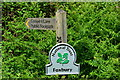SU3016 : National Trust sign on entry to Foxbury via Cooper's Lane by David Martin