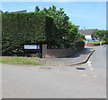 ST3483 : Corner of West Nash Road and Farmfield Lane, Nash by Jaggery