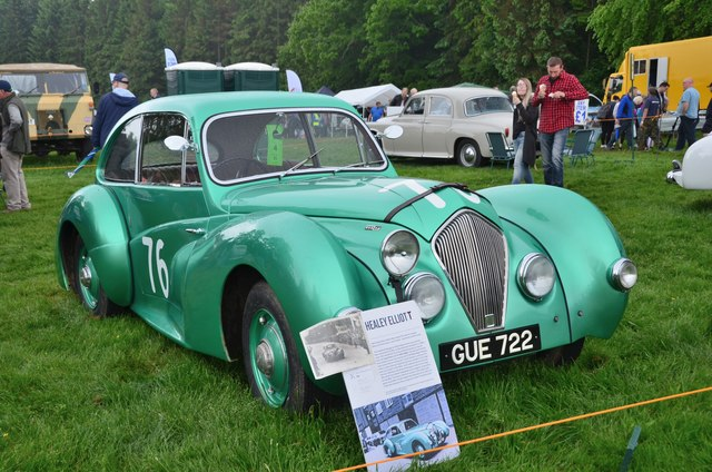 Healey Elliott, Thirlstane Castle car show