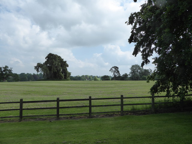 View from Sandringham Church towards West Newton