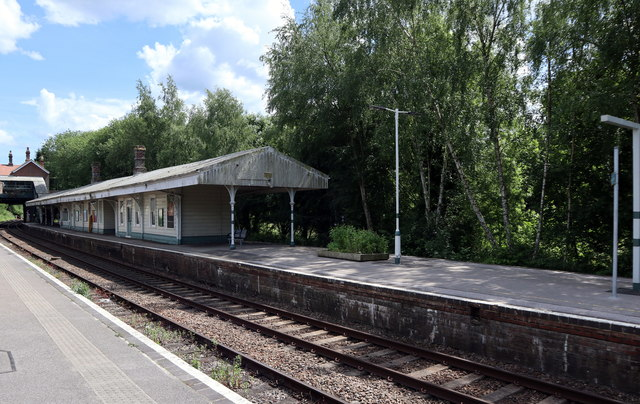 Elridge Station Platform