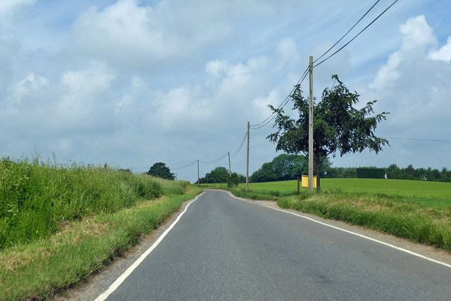 Road to Little Bardfield and Thaxted