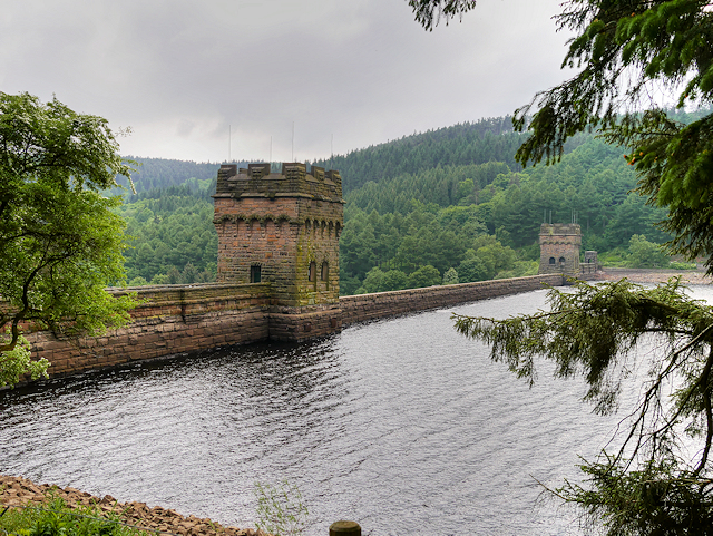 The Derwent Reservoir Dam