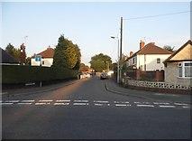 SO9497 : Bulger Road at the junction of Hadley Road by David Howard