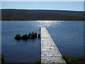 NC9937 : Jetty on Glutt Loch by John Lucas