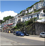 SX2553 : East side of Station Road, Looe by Jaggery