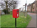 SO6303 : Queen Elizabeth II postbox on a Lydney corner by Jaggery