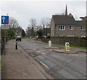 SO6302 : Church Road traffic calming, Lydney by Jaggery