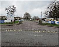 SO6302 : Keep Clear Zone, Church Road, Lydney by Jaggery