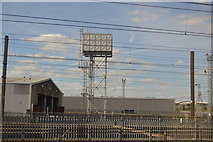 TQ2182 : Water tower, Old Oak Common Depot by N Chadwick