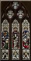 TA0489 : Alleluia window, St Mary's church, Scarborough by Julian P Guffogg
