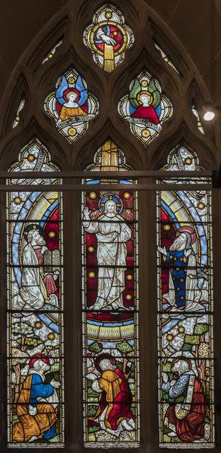 Transfiguration window, St Mary's church, Scarborough