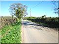 SJ5265 : Wood Lane near Duddon Common by Jeff Buck