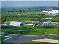 SJ8184 : Manchester Airport Runway Visitors Park by David Dixon