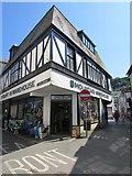 SX2553 : Mountain Warehouse on an East Looe corner by Jaggery