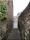 NU0052 : Narrow alley off Ravensdowne by Jonathan Hutchins