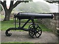 NU0052 : Russian cannon on Berwick ramparts by Jonathan Hutchins