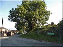SJ9105 : Brewood Road at the junction of Old Stafford Road by David Howard