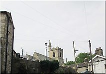 SD8789 : St  Margaret's  parish  church  from  The  Hill by Martin Dawes