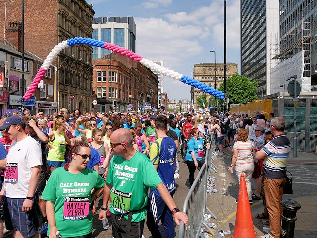 Portland Street Great Manchester Run
