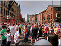 SJ8497 : Great Manchester Run, Princess Street by David Dixon
