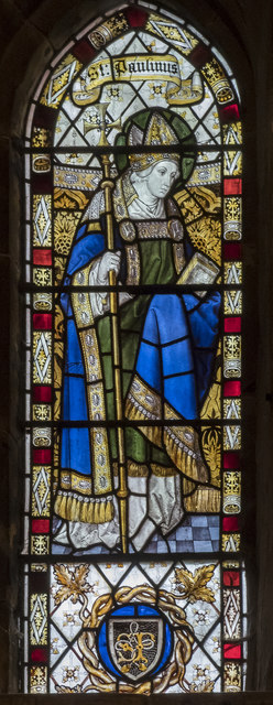 Clerestory window, St Mary's church, Scarborough