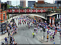 SJ8397 : Great Manchester Run, Deansgate by David Dixon