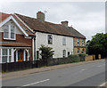 TL6370 : Cottages, Mildenhall Road by Keith Edkins