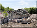 SD8010 : Remains of Former Police Headquarters (May 2018) by David Dixon
