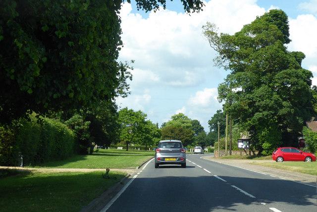 A143, Horringer by Robin Webster