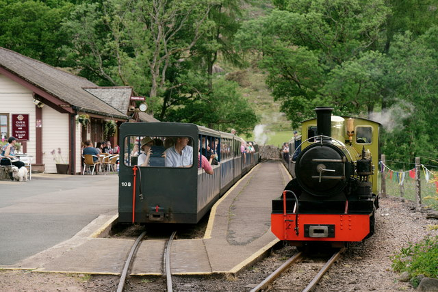 Busy day at Dalegarth